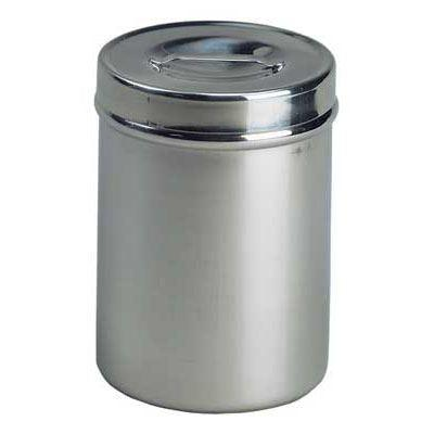 applicator jar, stainless steel applicator jar, applicator jar with lid