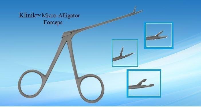 Ear Alligator Forceps, Clinic Grade Forcep, Economy Grade Forcep, Economy Medical Instrument