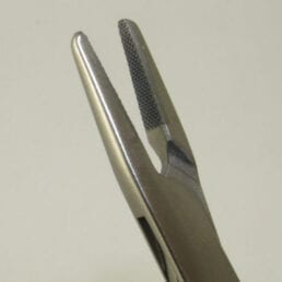Par Needle Holder jaws 12mm tc